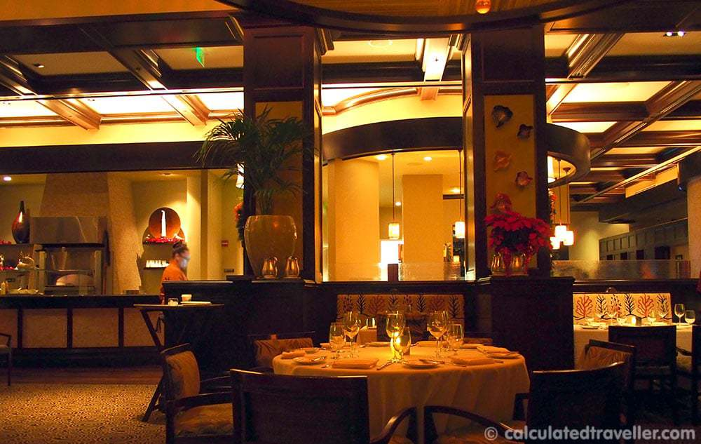 Dining at Caretta on The Gulf, Clearwater Florida
