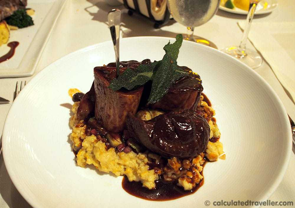 Buffalo Osso Bucco - Dining at Caretta on The Gulf, Clearwater Florida