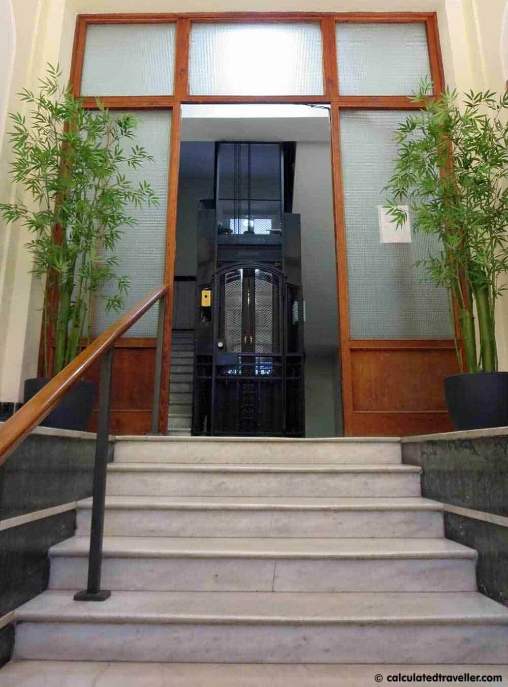 Chroma Tessera Hotel Rome Italy Review - Entry Way - Calculated Traveller