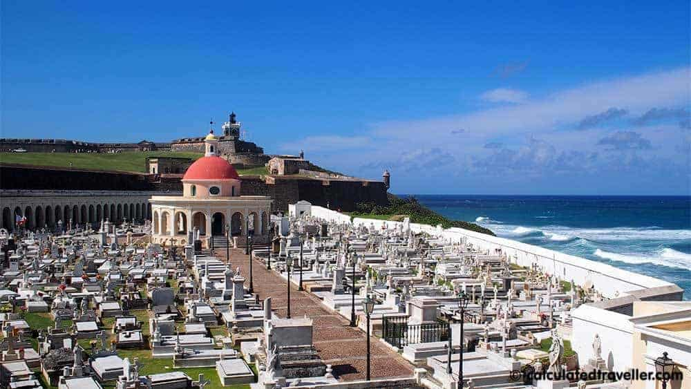 A Guide to San Juan by Calculated Traveller. Santa Maria Magdalena de Pazzis Cemetery | #SanJuan #PuertoRico #guide #tour #travel