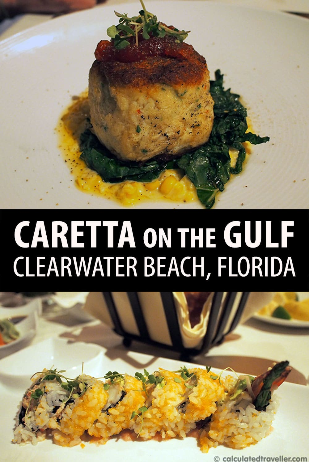 Dining at Caretta on The Gulf, Clearwater Florida by Calculated Traveller