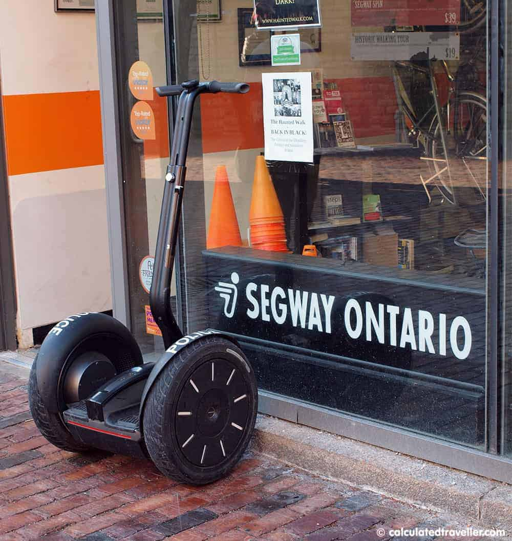 Segway of Ontario – Touring Toronto's Distillery District in Style