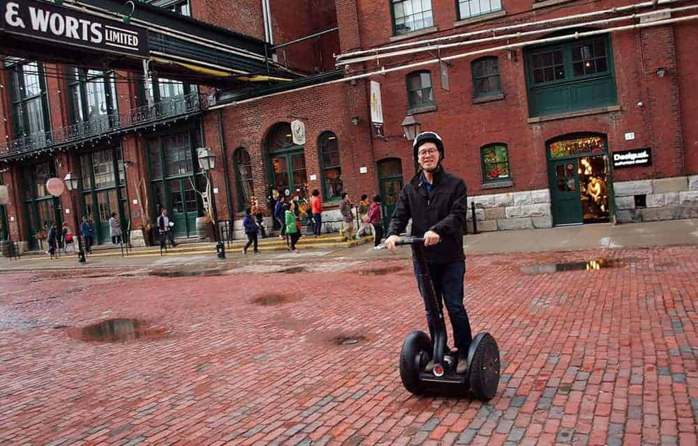 Segway of Ontario – Touring Toronto Distillery District in Style