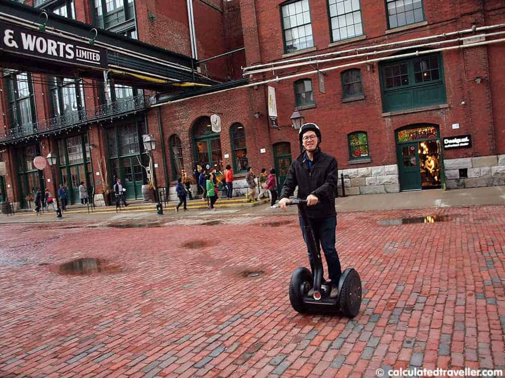 Segway Ontario – Touring Toronto's Distillery District in Style - Calculated Traveller