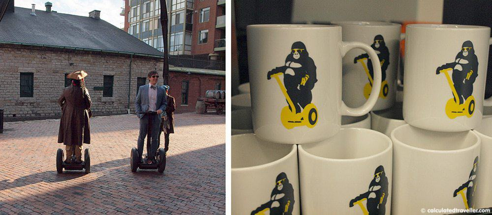 Segway Ontario – Touring Toronto's Distillery District in Style