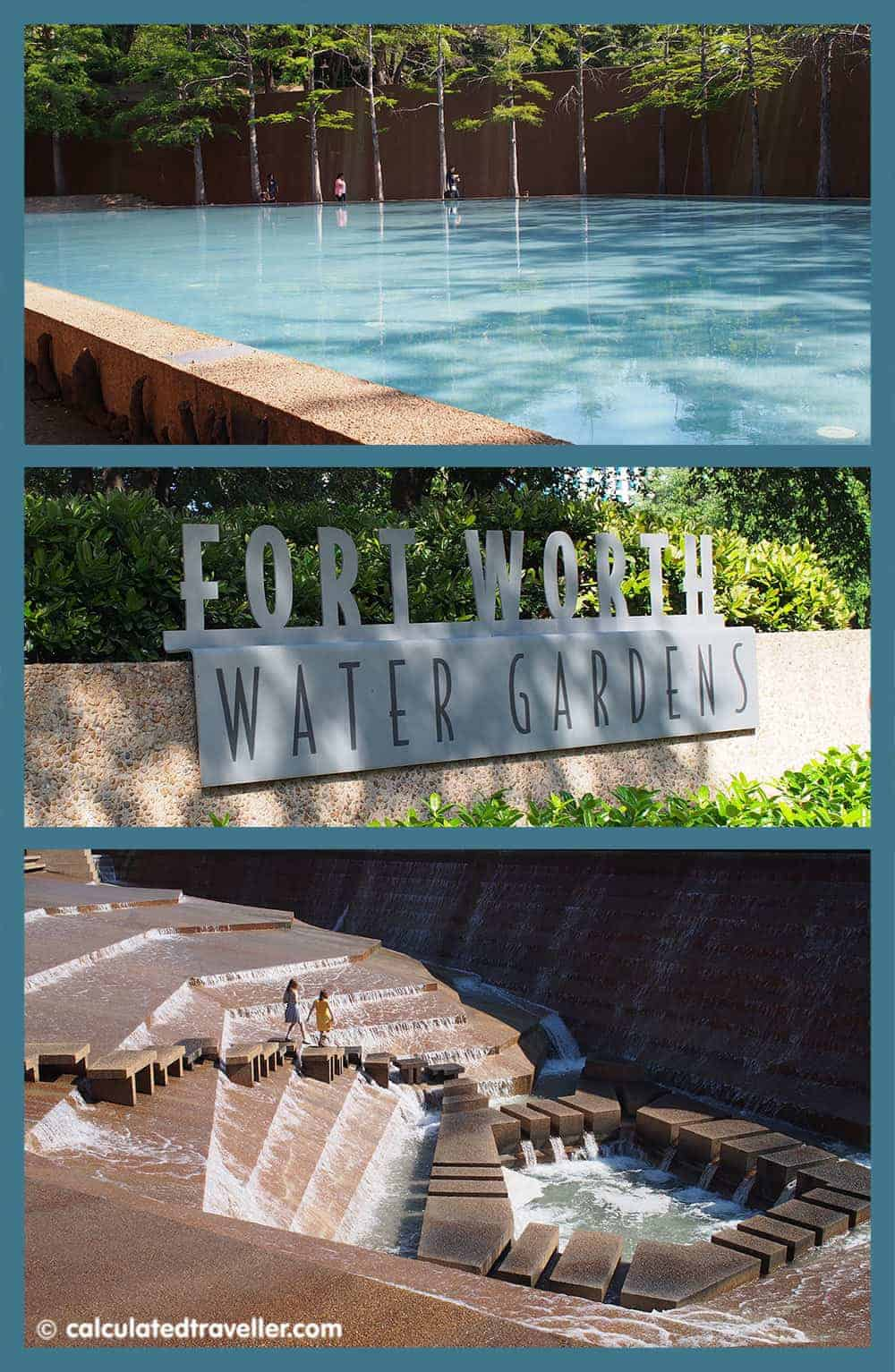 Fort Worth Water Gardens, Fort Worth Texas by Calculated Traveller