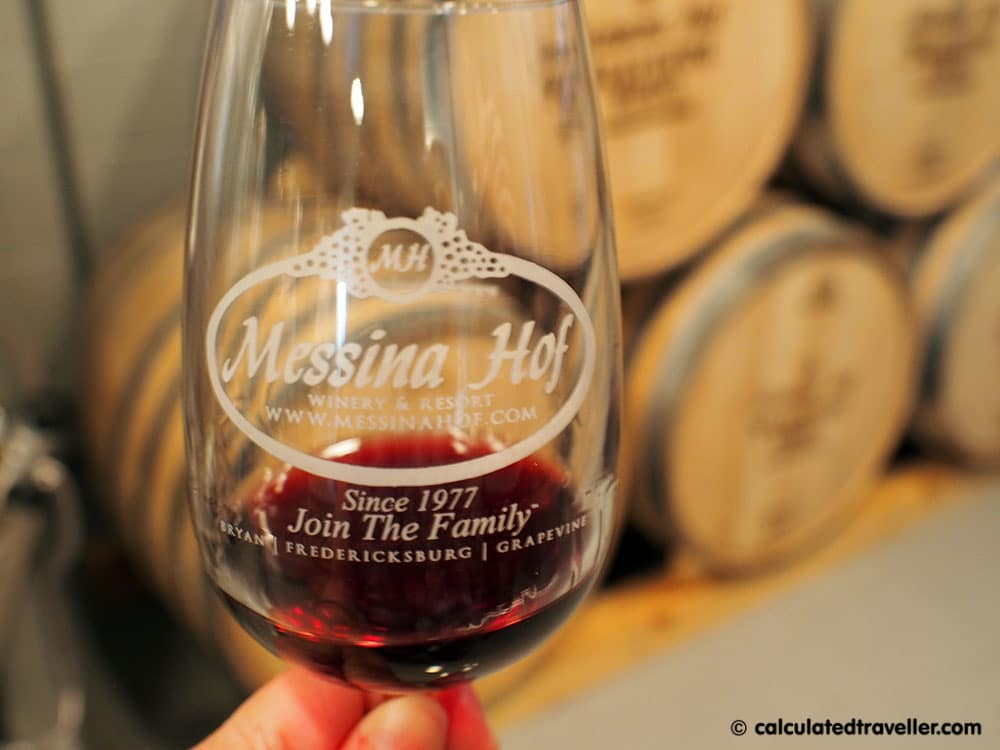 Messina Hof Urban Winery Tasting Room Grapevine Texas