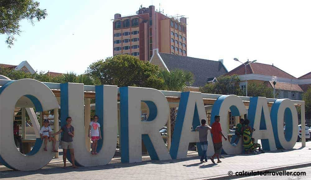 A One Day Itinerary for Curacao Calculated Traveller Curacao Sign