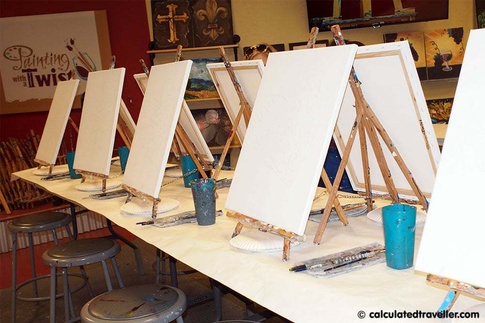 Painting with a Twist Grapevine Texas
