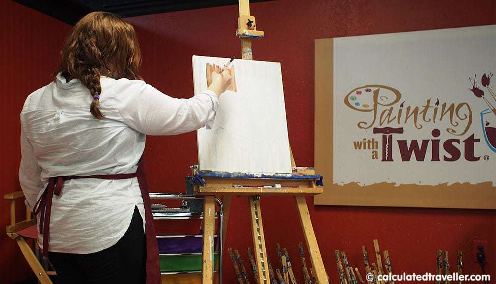 Painting with a Twist Grapevine Texas Kayla
