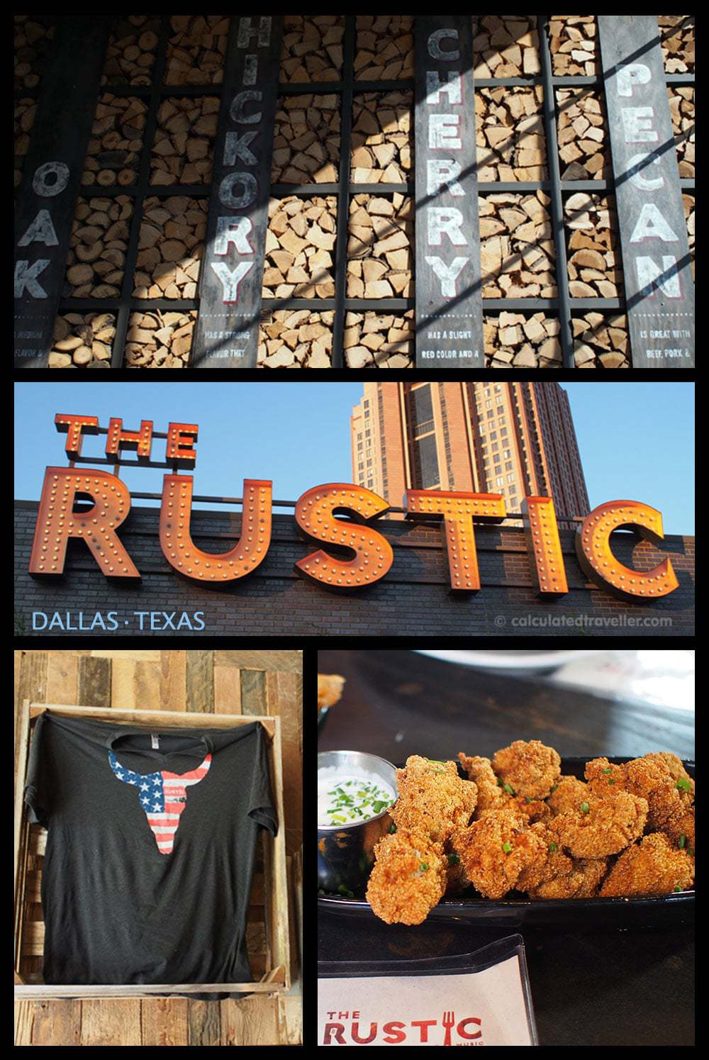 Eating #DallasBig at The Rustic Dallas Texas by Calculated Traveller