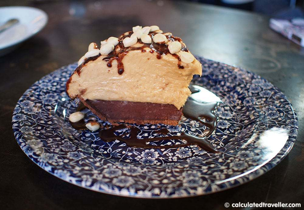 Eating #DallasBig at The Rustic Dallas Texas - Peanut Butter Pie