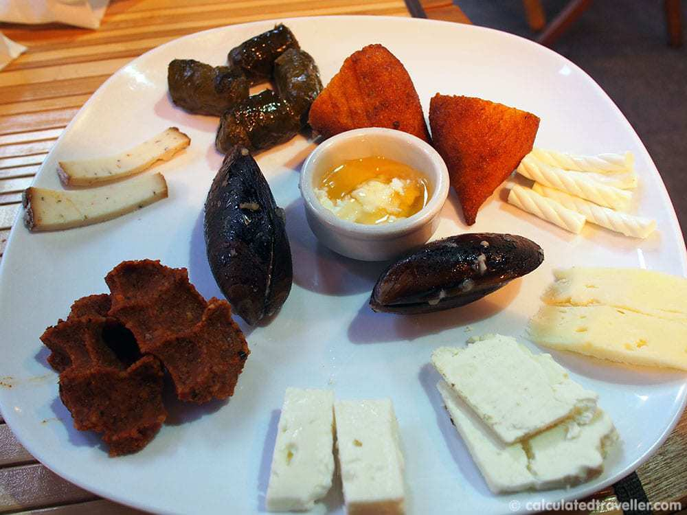 Eating Istanbul on an Istanbul Food Tour - Cheese Mezze