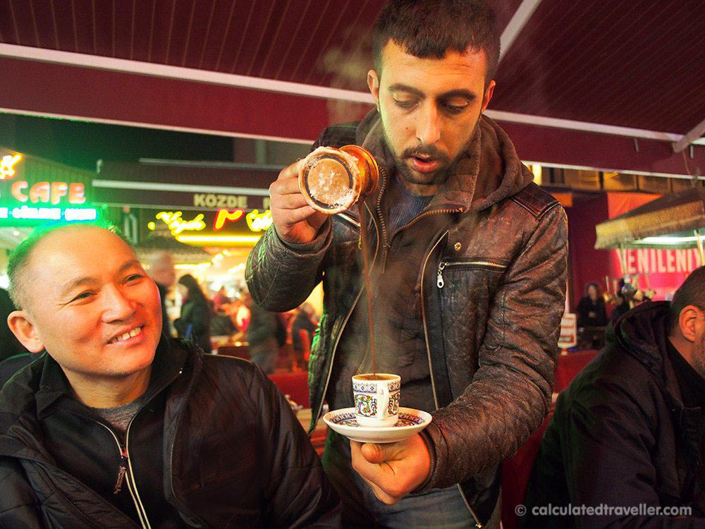 Eating Istanbul on an Istanbul Food Tour - Turkish Coffee Calculated Traveller