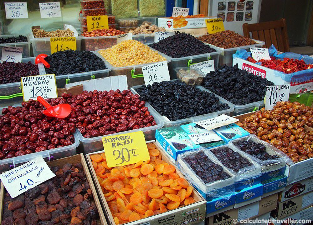 Eating Istanbul on an Istanbul Food Tour - Dried Fruit