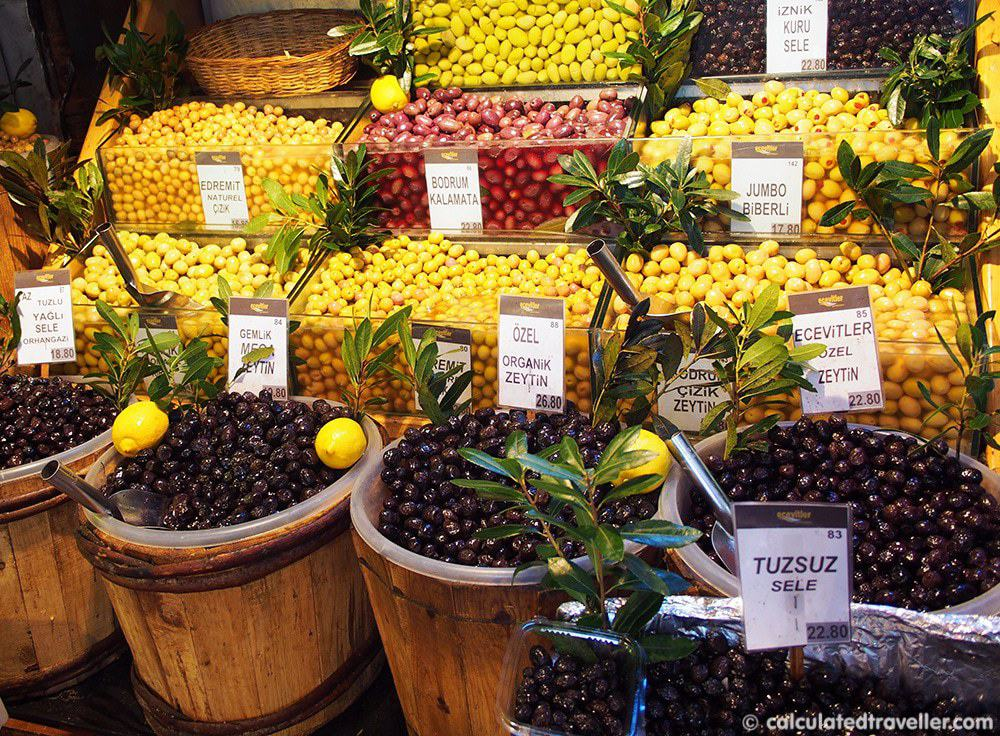 Eating Istanbul on an Istanbul Food Tour - Olives