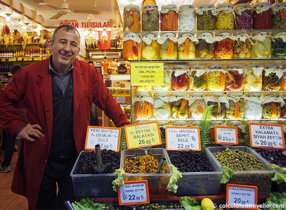 Eating Istanbul on an Istanbul Food Tour - Pickles