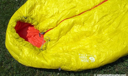 Camping with the Mountain Hardwear HyperLamina Spark 35 Sleeping Bag