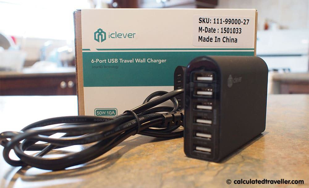 The iClever 6-Port USB Travel Wall Charger Review