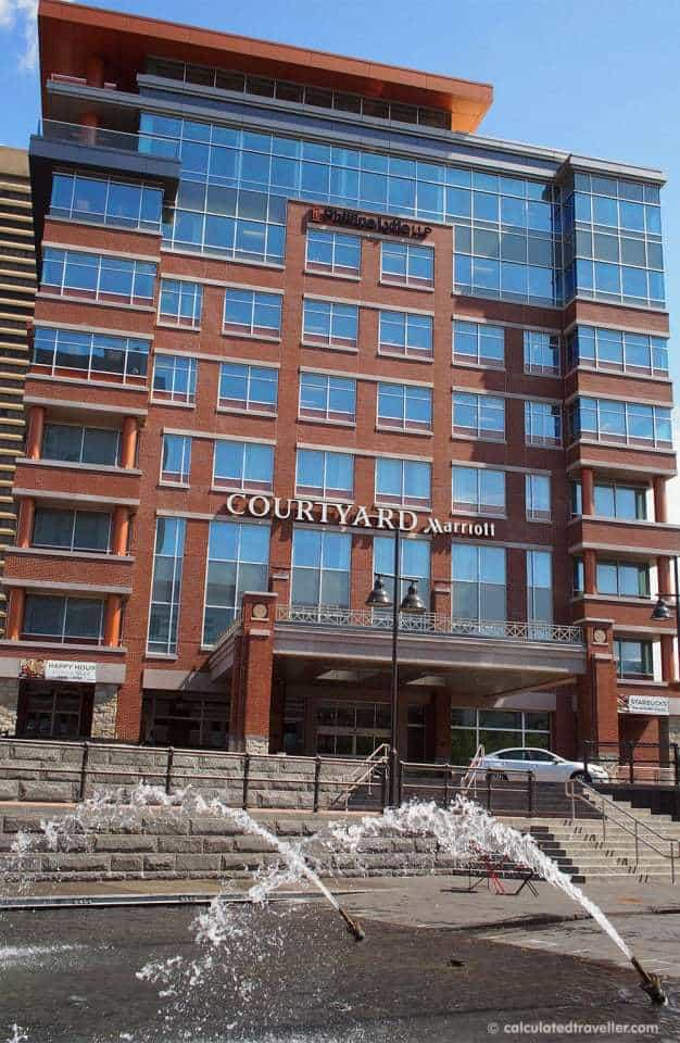 Courtyard Marriott Buffalo Canalside Hotel Review by Calculated Traveller