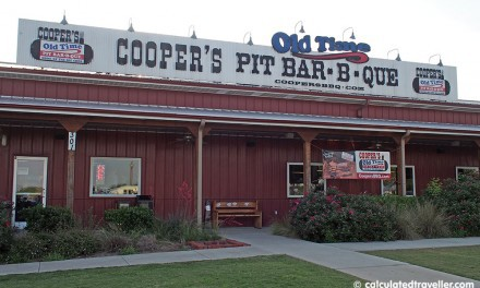 Cooper's Old Time Pit Bar-B-Que. It's Slap your Mama Good!