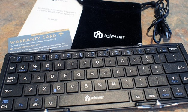 iClever Portable Foldable Bluetooth Keyboard Review