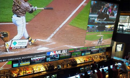 Watching ALL the Games at once at (716) Food and Sport, Buffalo Canalside