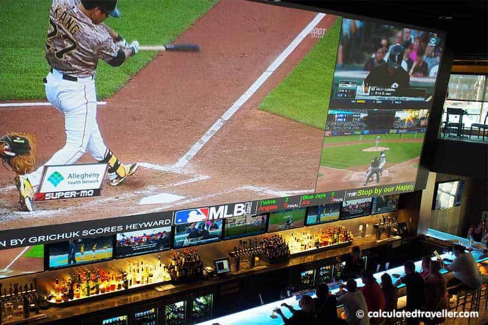 Watching ALL the Games at once at (716) Food and Sport, Buffalo Canalside   Calculated Traveller