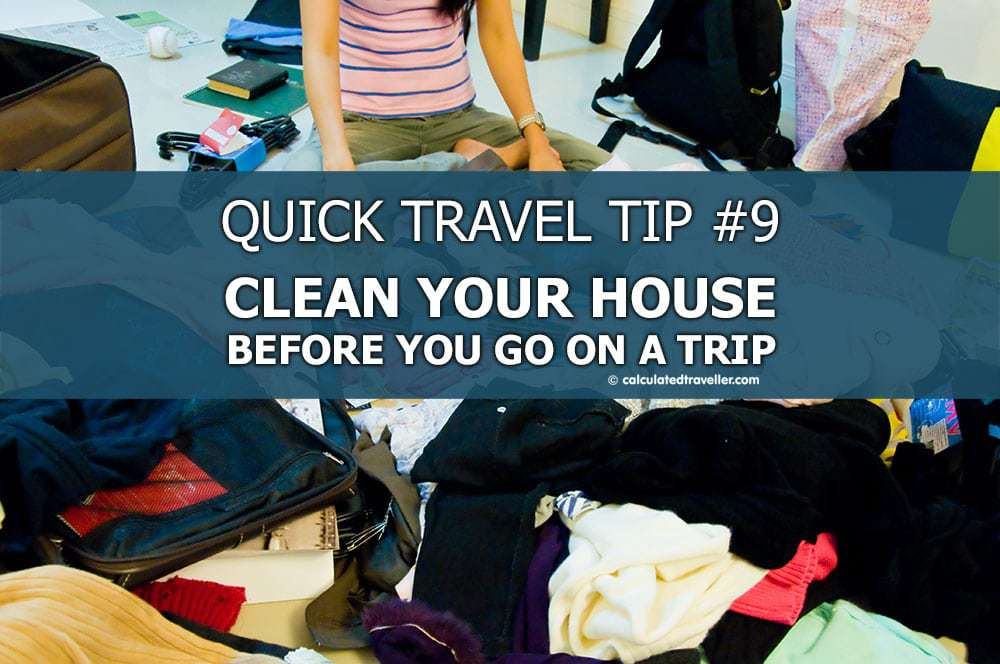 Clean our house Pinterest image