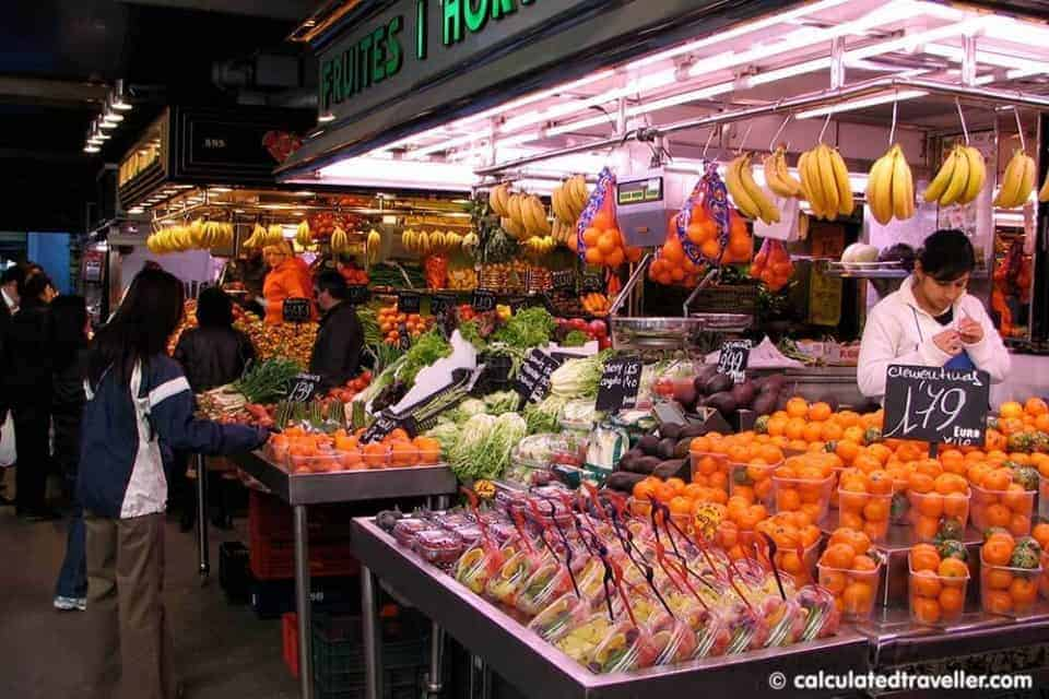Planning Your Mediterranean Cruise - Calculated Traveller - LaBoqueria Barcelona