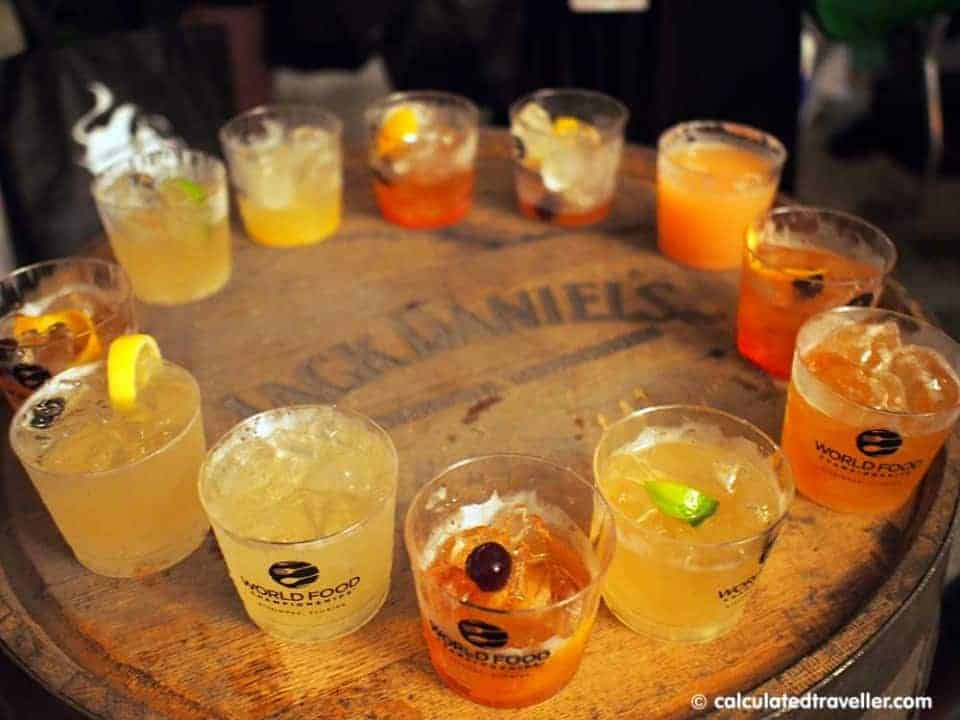 World Cocktail Experience Kissimmee Florida by Calculated Traveller