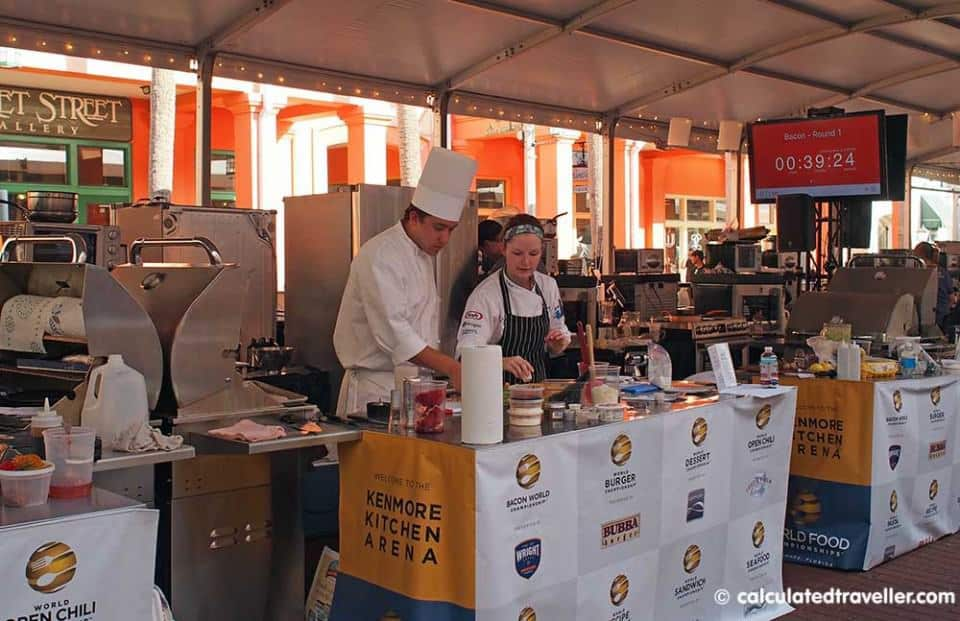 World Food Championships 2015 Kissimmee Florida