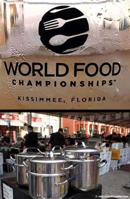 Food Fight at the 2015 World Food Championships Kissimmee Florida by Calculated Traveller