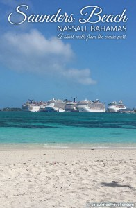 A Day at the Beach in Nassau Bahamas by Calculated Traveller