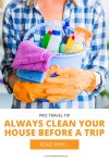Clean your house PIN