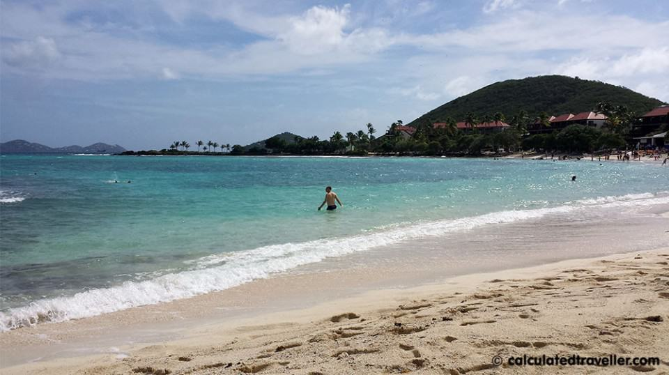 Avoid the Cruise Ship Crowds at Sapphire Beach, St Thomas USVI by Calculated Traveller