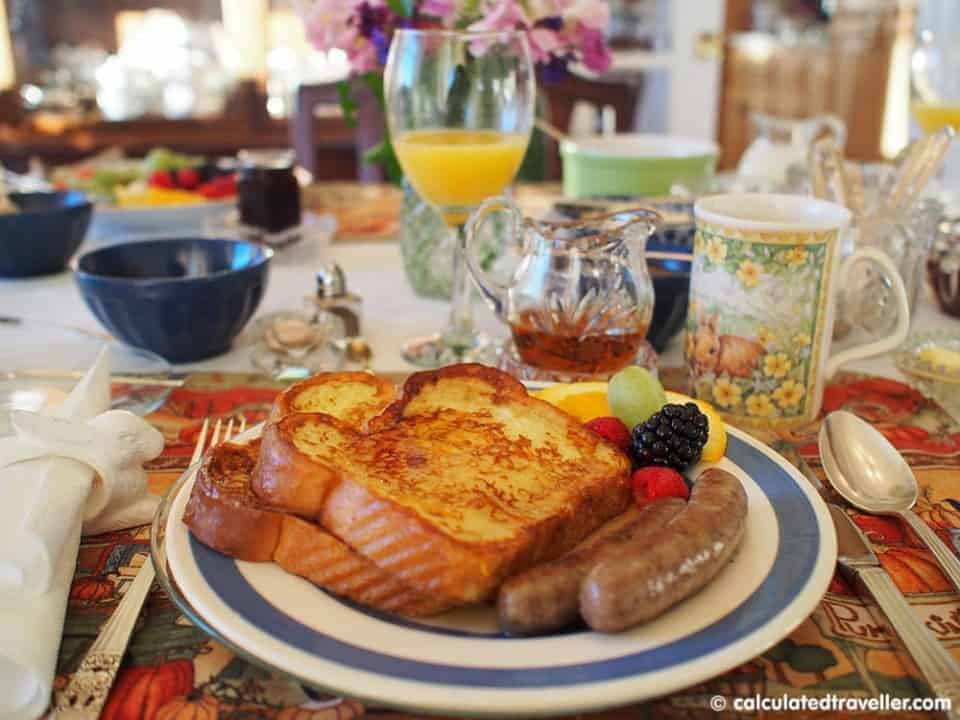 A Maple Syrup Experience at Deakins Mountainview B&B - Breakfast