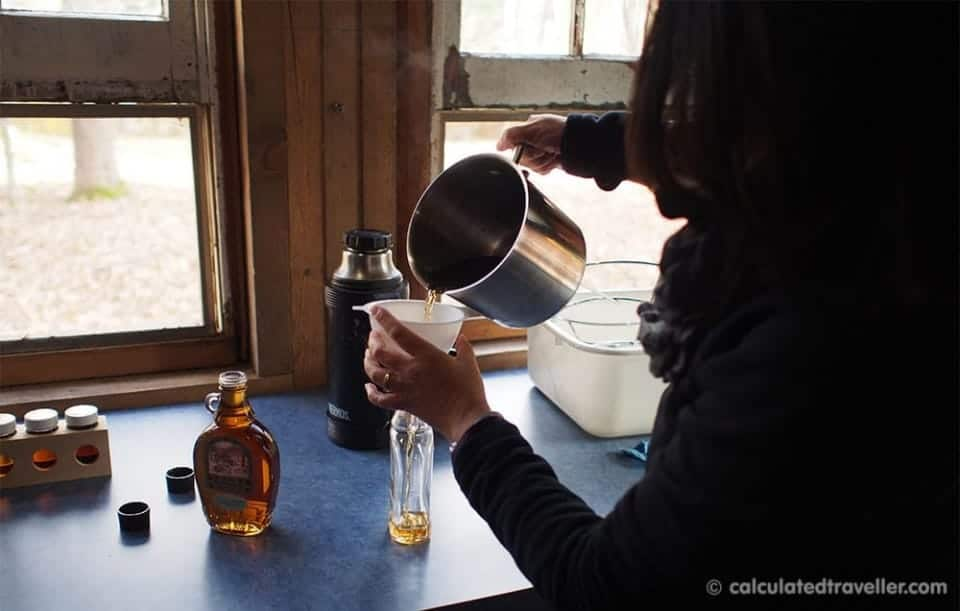 A Maple Syrup Experience at Deakins Mountainview B&B