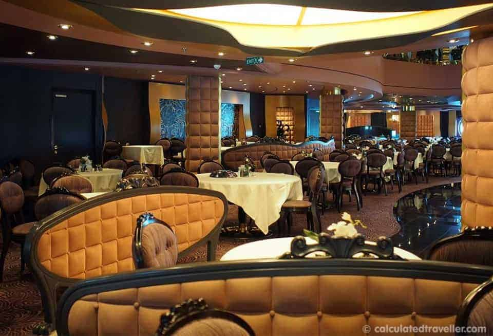 MSC Divina Cruise Ship Dining Review – An Update  - MSC Dining Room
