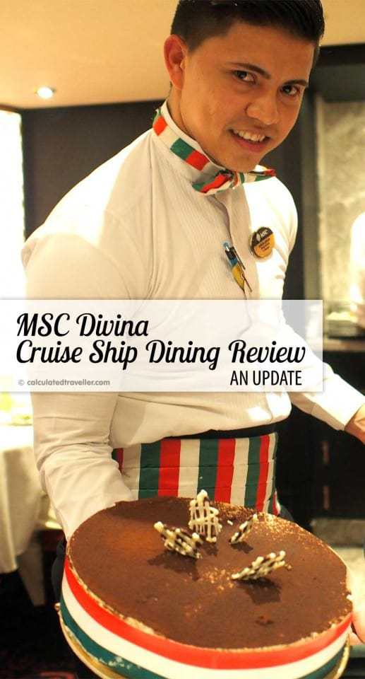 MSC Divina Cruise Ship Dining Review – An Update  by Calculated Traveller