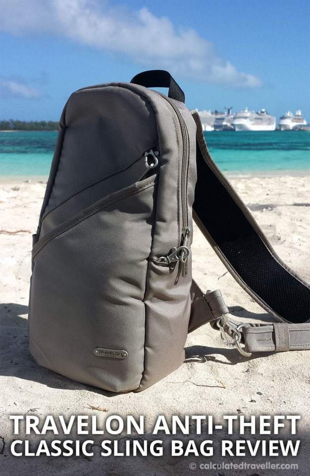 Review: Travelon Classic Anti-theft Sling Bag by Calculated Traveller