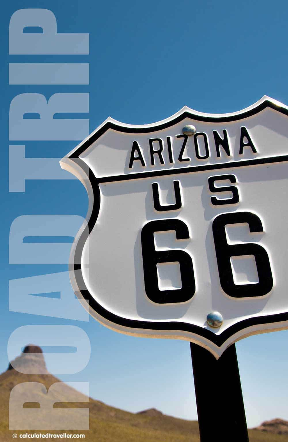 An Arizona Road Trip Adventure along Route 66 by Calculated Traveller
