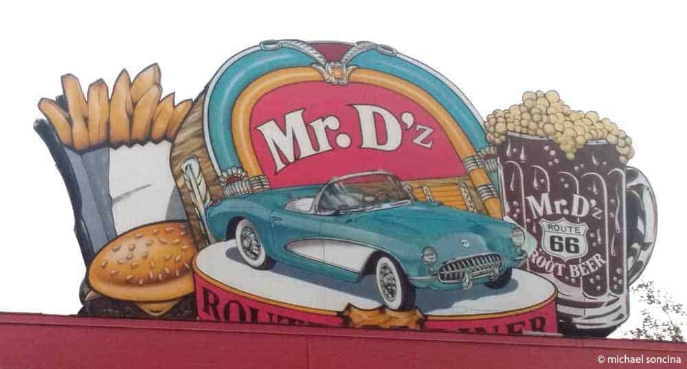 An Arizona Road Trip Adventure along Route 66 - Mr. D'z Route 66 Diner