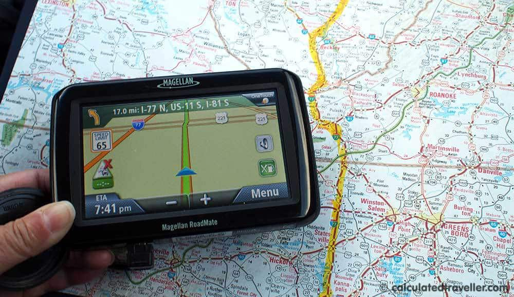 Road Trip to Florida: Driving is the Affordable Way GPS MAP