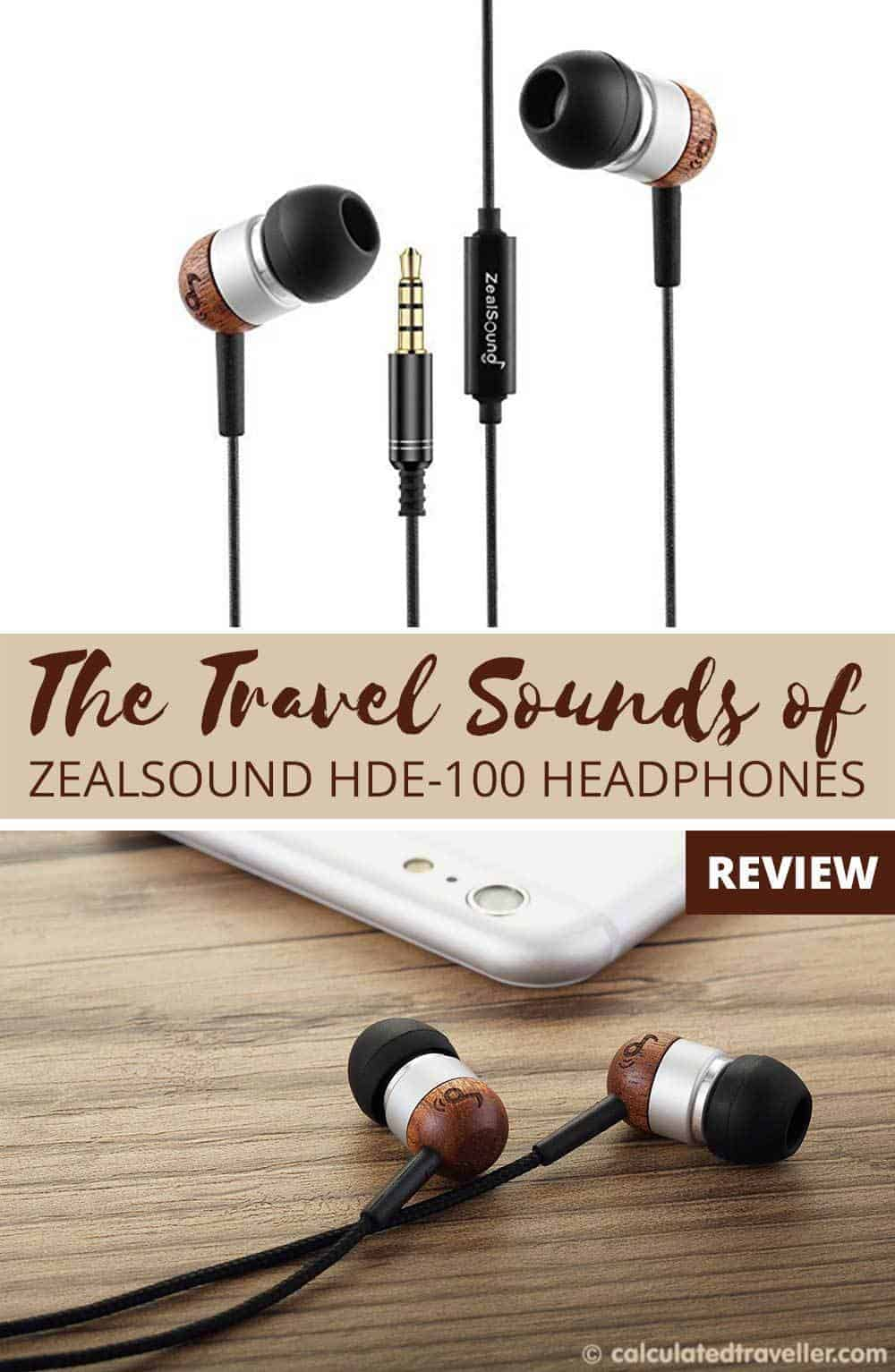 The Travel Sounds of ZealSound HDE-100 Headphones  - Review by Calculated Traveller