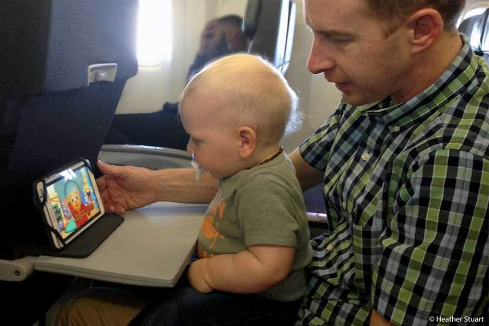 Top 10 Tips for Flying With a Toddler - TIP: Bring Videos for the Plane