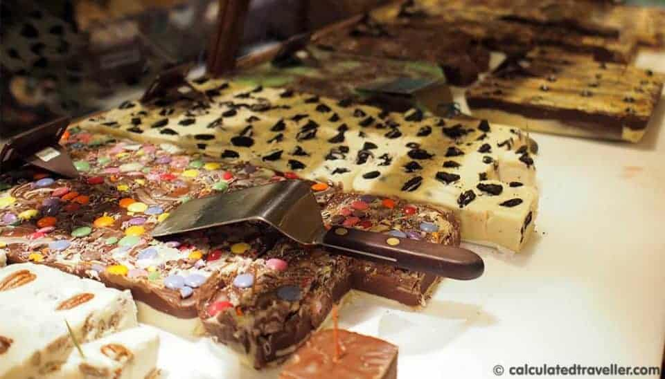 Mariposa Market – An Orillia Ontario Tradition. Sweet home made Fudge.