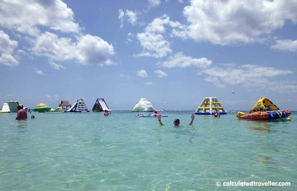San Francisco Beach Club on Playa Paradise Beach Cozumel Mexico