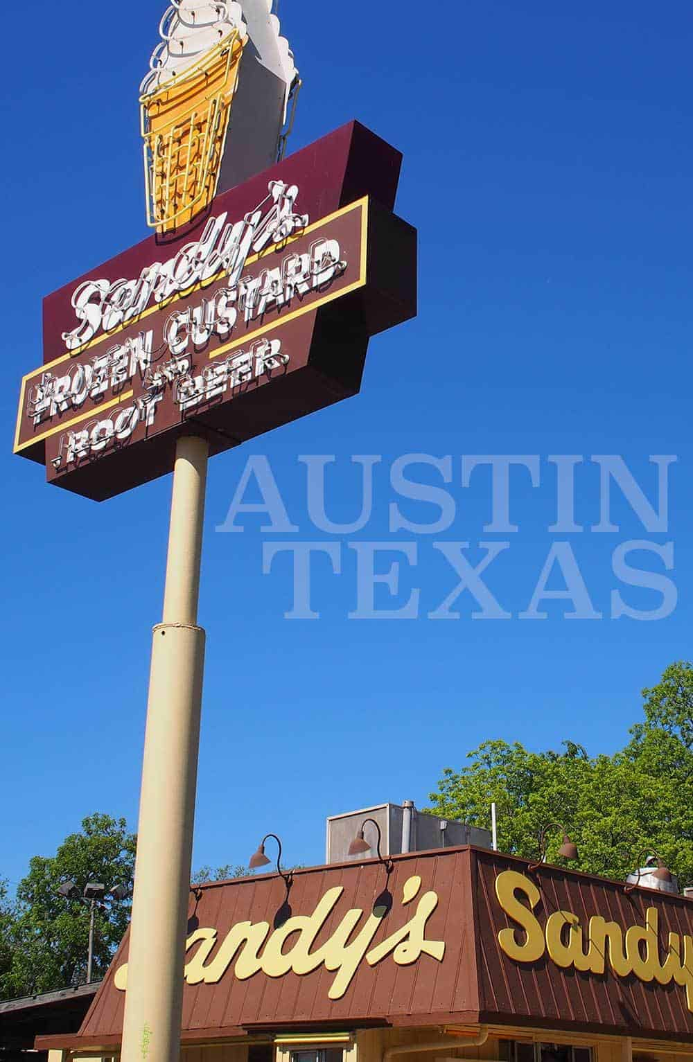 The Truth about Sandy's Burgers Austin Texas by Calculated Traveller