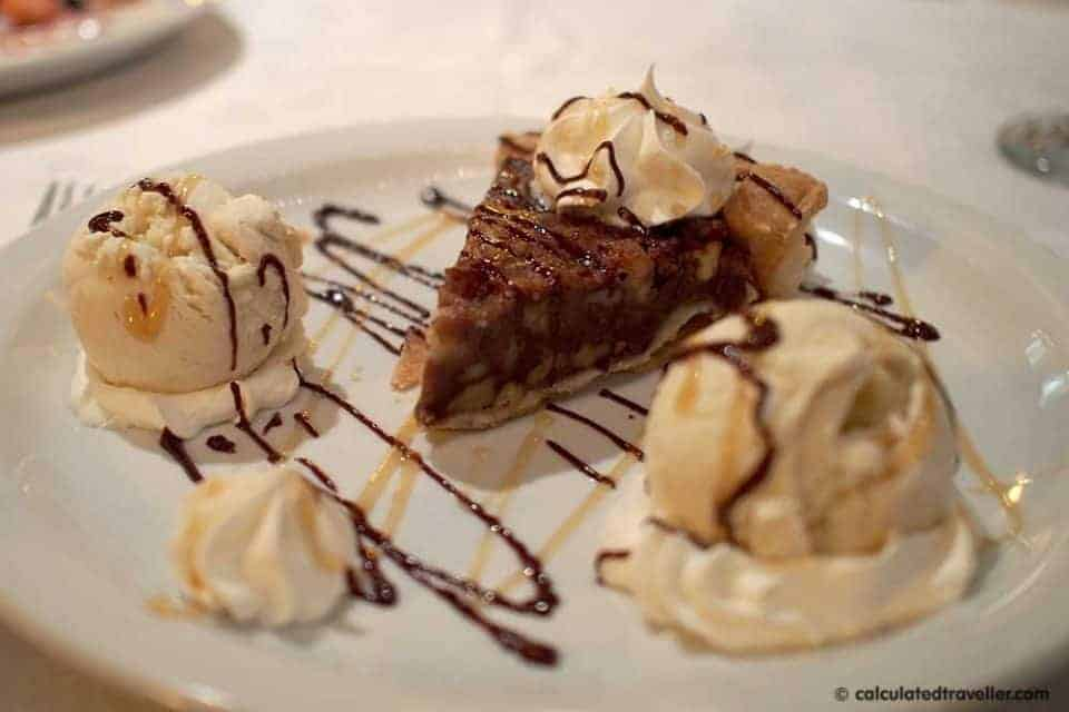 Fine Dining Thoroughbreds Restaurant, Myrtle Beach SC - Kentucky Derby Pie